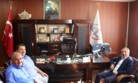 Rektör Abdulhalik Karabulut'tan Milli Eğitim Müdürü Yakup Turan'a Ziyaret
