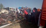 Çorum'da Feci Kaza 5 Kişi Öldü