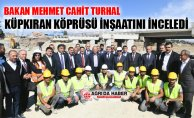 Bakan Mehmet Cahit Turhan Ağrı'da Küpkıran Köprüsünü İnceledi