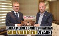 Ulaştırma ve Altyapı Bakanı Turhan Ağrı Valiliğini Ziyaret Etti