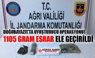 Doğubayazıt'ta Uyuşturucu Operasyonu! 1105 Gram Esrar Ele Geçirildi