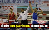 Büyük Erkekler Türkiye Ferdi Boks Şampiyonası Ağrı'da Başladı