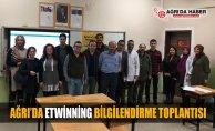 Ağrı Milli Eğitim Müdürlüğünden Etwinning Bilgilendirme Toplantısı