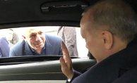 """Vatandaşla Sohbet Eden Erdoğan """"Ensarız Biz"""""""