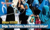 Doğu Türkistanda Zulüm Devam Ediyor! Çin Tiyatro Yapıyor