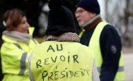 Fransa'da Sarı yelek eylemlerine Son!