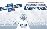 """Memur-Sen'den """"Kamuda Sözleşmeliliğe Son Şurası"""""""