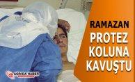 Ramazan Taşdemir Protez Kollarına Kavuştu