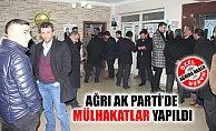 Ağrı AK Parti'de Mülakatlar Yapıldı