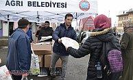 Ağrı Belediyesi'nden 10 Bin Adet Çevre Dostu Bez Çanta