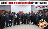 Ağrı AK Parti İl Genel ve Belediye Meclis Üyelerini Tanıttı