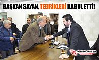 Ağrı Belediye Başkanı Savcı Sayan Tebrikleri Kabul Etti