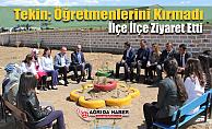 MehmetFaruk Tekin, Öğretmenlerin Davetini kırmadı İlçe okullarına koştu
