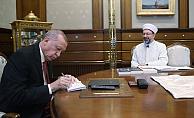 Cumhurbaşkanı Erdoğan'dan Kurban bayramı Bağışı