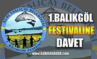 Ağrı Taşlıçay Belediyesi 24 ağustos 1.Balıkgöl Festivali İçin Hazır