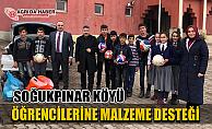 Ağrı GSİM'den Soğukpınar Köyüne Spor Malzemesi Desteği