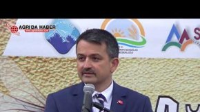 2. Ağrı Bal Festivali Bakan Bekir Pakdemirli'nin Konuşması