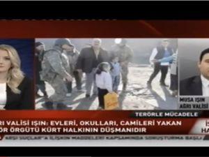 Ağrı Valisi Musa IŞIN A Haber'de Konuştu! Halkımız PKK'yı Desteklemiyor