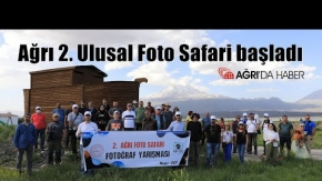 Ağrı 2. Ulusal Foto Safari ile ünlü fotoğrafçılar Ağrı'nın tanıtımını yapacak