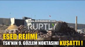 Türk silahlı Kuvvetleri 9. Gözlem Noktası Esed Rejimi Kuşatmasında