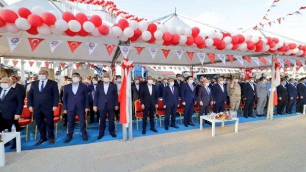 Ağrı'da Asfalt Plenti Açılışı Yapıldı
