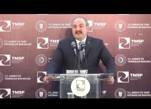 Mustafa Varank'ın Ağrı'da Altın Rezervi Konuşması