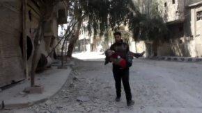 Esed bir kez daha sivilleri hedef aldı