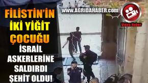 Filistin'li İki Çocuk İsrail Askerlerine Bıçakla Saldırdı