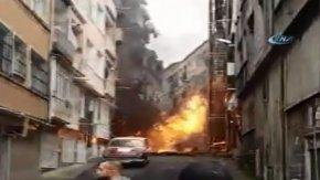 İstanbul'da korkutan patlama !